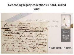 GeocodingFieldNotes