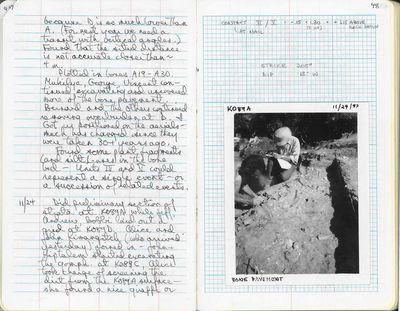 Behrensmeyer Field Notes BPRP 1987_1