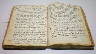 A 17th-century iatrosofion (notebook of a physician). (Photo by Alain Touwaide)