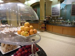 Organic fruit and other snacks available to visitors. Image courtesy of NMNH.