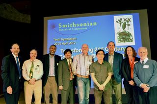 Speakers of the 2012 Smithsonian Botanical Symposium