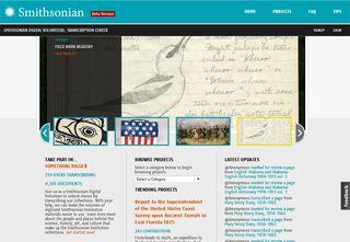 Smithsonian_Transcription_Center