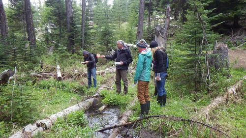 Bob Hershler with Workshop Participants in Oregon