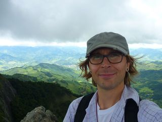 Eric Schuettpelz, in this self-portrait, joined the staff of the Department of Botany as Research Botanist and Assistant Curator of Ferns in August 2013.