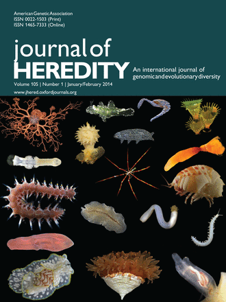 GIGA on cover of Journal of Heredity