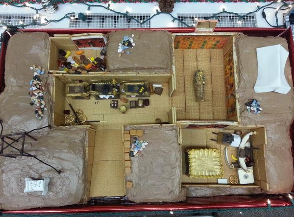 Anthrocakes 2013 Revealed King Tutankhamen S Tomb