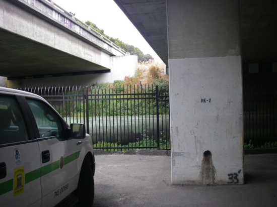 Under Highway 280