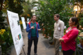Poster presenters and guests interact at the opening reception of the Smithsonian Botanical Symposium. (photo by Ken Wurdack)