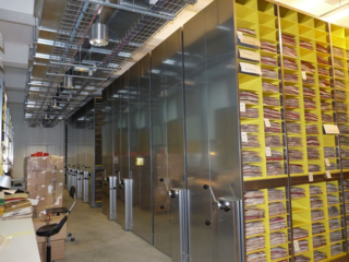 A good model to follow: Muséum National d'Histoire Naturelle in Paris, which has recently renovated its herbarium, has imaged about 8 million specimens. All of their herbarium specimens are now stored in new compactors, organized by the phylogenetic system.