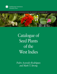 Catalogue of Seed Plantrs of the West Indies