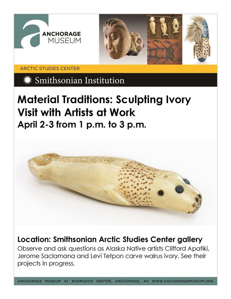 MT Ivory artists April 2-3
