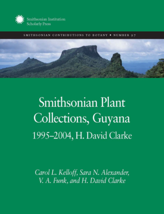 Smithsonian Plant Collections, Guyana