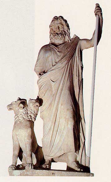 Pluto, God of the Underworld