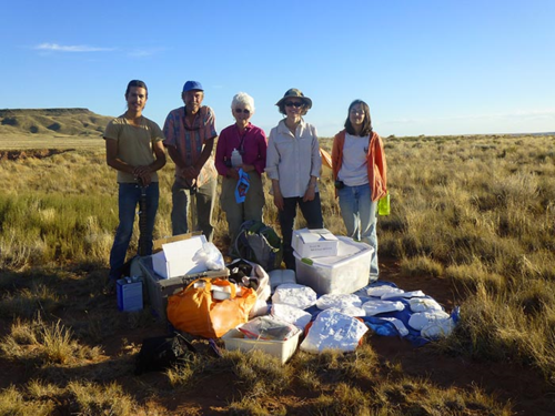 Crew packed up