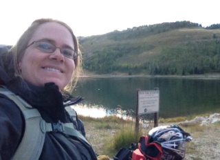Sometimes getting there is half (or more of) the fun! Sampling Astragalus at Duck Fork Reservoir, Manti-La Sal National Forest, required 4-wheelers to get there.