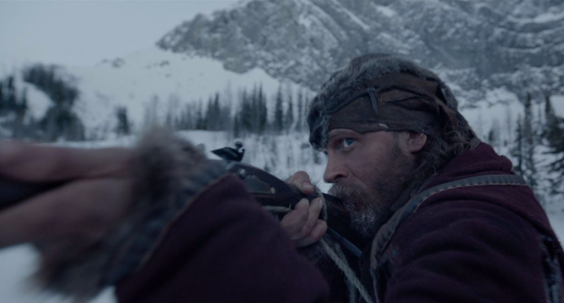 John Fitzgerald, played by Tom Hardy in a promotional still from The Revenant