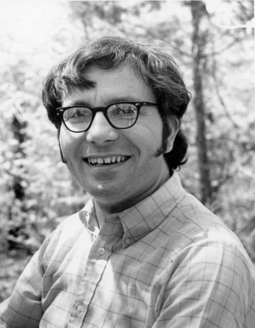 Stanwyn Shetler on Plummers Island, Maryland ca. 1970. (photo courtesy of the Washington Biologists' Field Club)