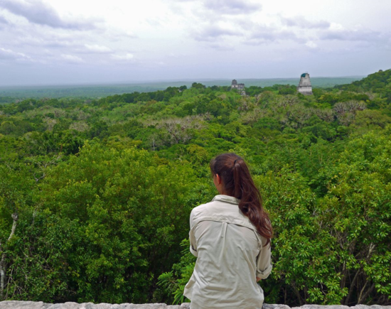 Me on an excursion in Tikal, Guatemala