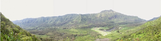 The Nu'uanu overlook