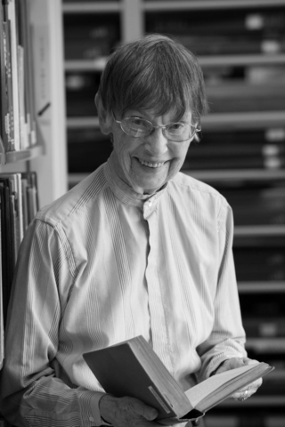 Ruth Schallert joined the Smithsonian Institution in 1966.