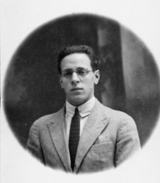Jose Cuatrecasas in Spain in 1923.