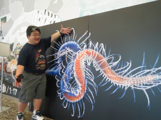 IZ's Chris Mah with a magnificent photo of polychaete taken by Alexander Semenov.