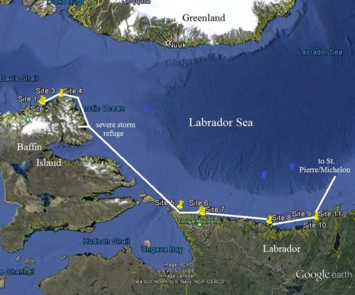 Passage MV Cape Racedivecollections sites