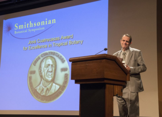 Paulo Günter Windisch receives the 13th José Cuatrecasas Award for Excellence in Tropical Botany