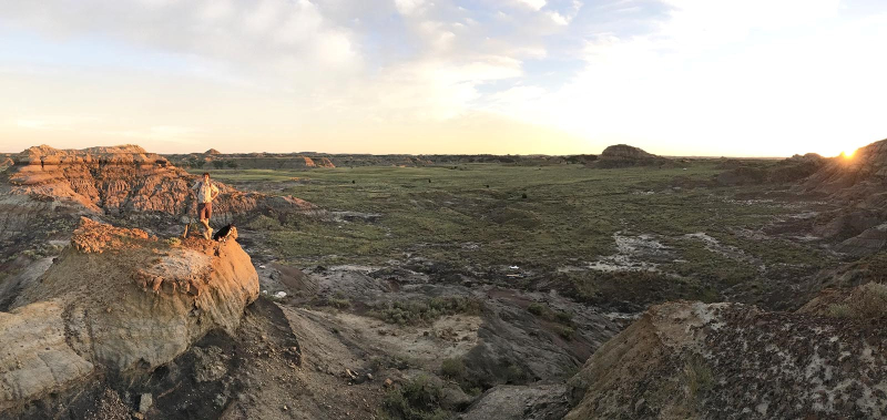 Hell Creek Formation Panorama