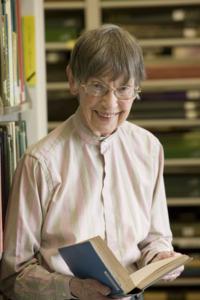 Portrait of Ruth F. Schallert by Chip Clark. 2007.