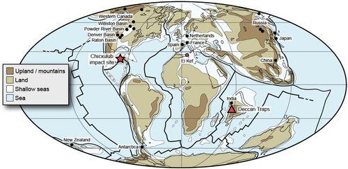 Cretaceous globe