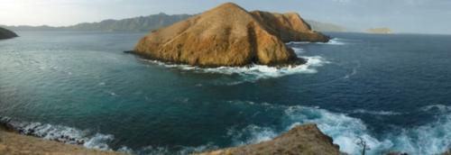 Cliffs of Islas Murciéagos
