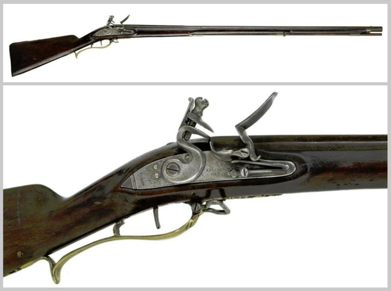 Smoothbore flintlock musket