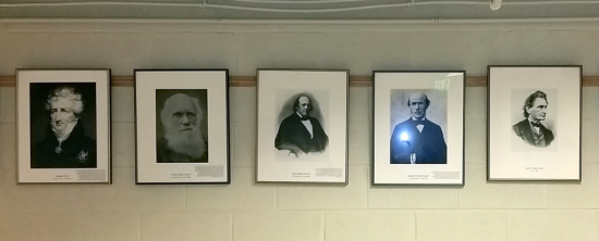 Classic carcinologists:  Georges Cuvier, Charles Darwin, Henri Milne Edwards, Alphonse Milne-Edwards, James Dwight Dana.