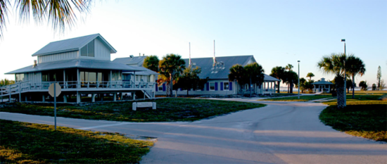 The Smithsonian Marine Station at Fort Pierce, Florida, as it looks today.