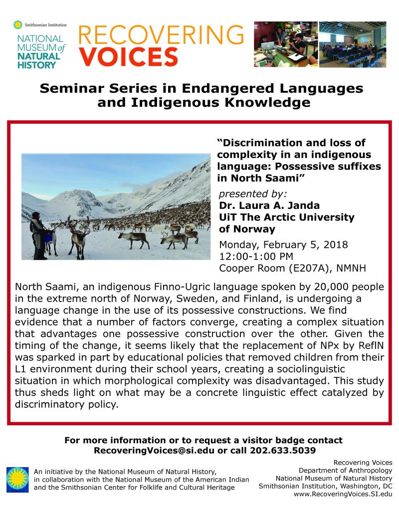 RV Seminar Feb 5
