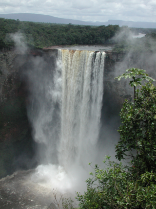 Kaieteur Falls, Guyana. (photo by Carol L. Kelloff)