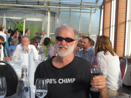 Tom Hollowell at the annual meeting of the Society for the Preservation of Natural History Collections (SPNHC) meeting in Berlin, Germany (2016)