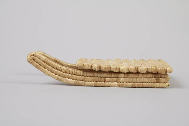 Inuit Miniature sled from Rigolet, Labrador.