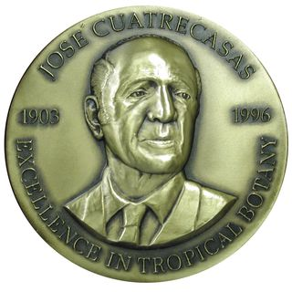The José Cuatrecasas Medal for Excellence in Tropical Botany