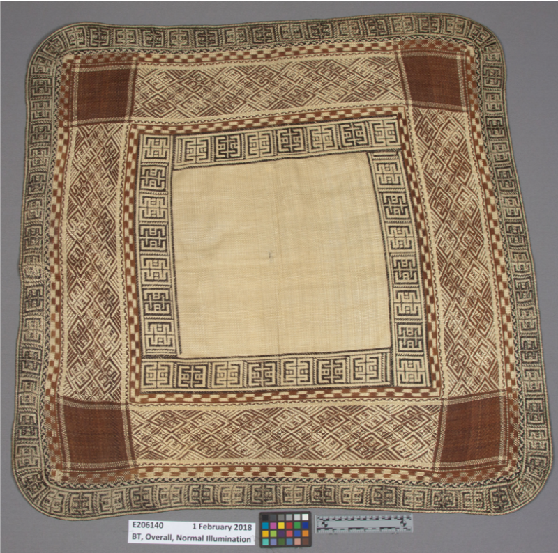 Finely woven mats from the Marshall Islands
