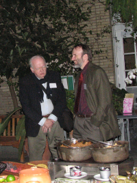 Harold Robinson and Ken Wurdack at the 2009 Smithsonian Botanical Symposium during a reception at the U.S. Botanic Garden. (photo by Leslie Brothers)