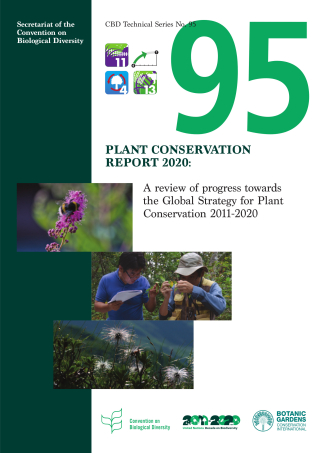 The Plant Conservation Report highlights the initiatives, actions and innovations carried out over the last 10 years to ensure the conservation of plants through the implementation of the Global Strategy for Plant Conservation.
